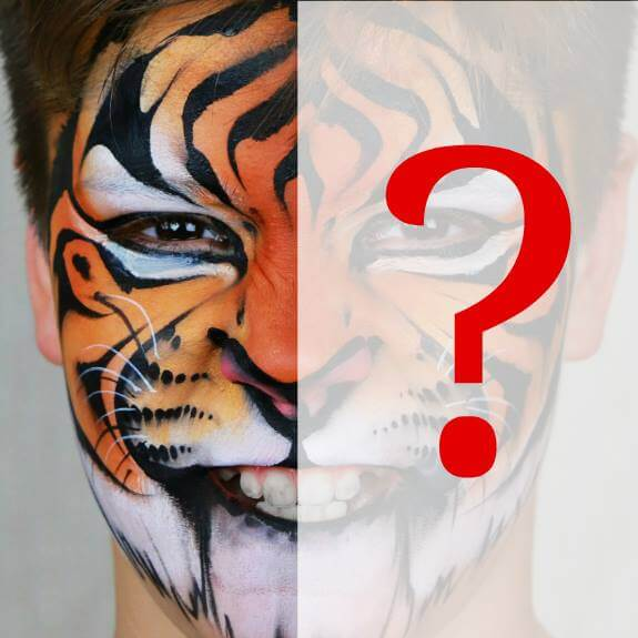 7 Steps For Symmetrical Face Painting Designs