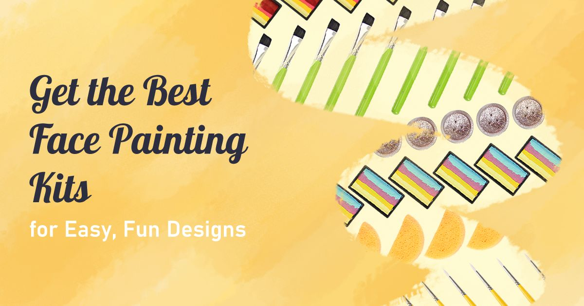 Get the Best Face Painting Kits for Easy, Fun Designs