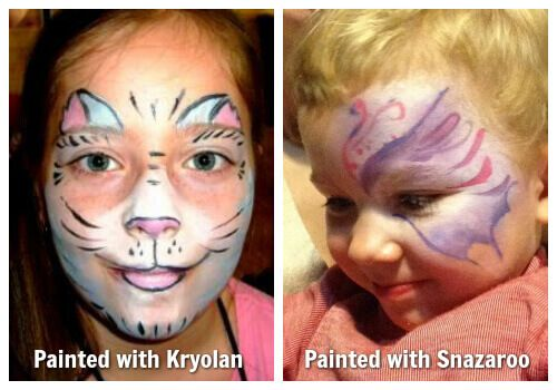 Different face painting brands comparison
