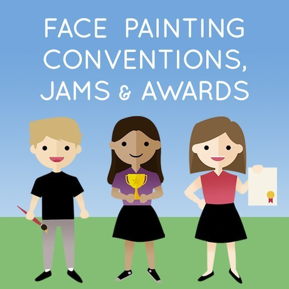 Face Painting Conventions, Jams and Awards