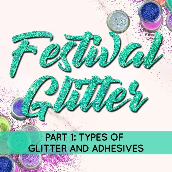 The Bling Blog: Festival Glitter is the Sparkliest Trend in Face Painting