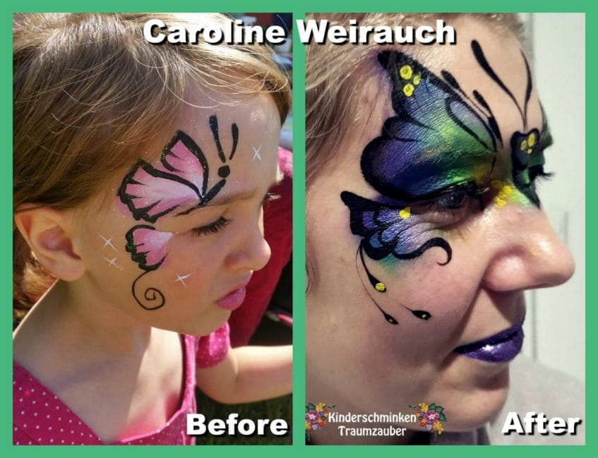Caroline Weirauch face painting