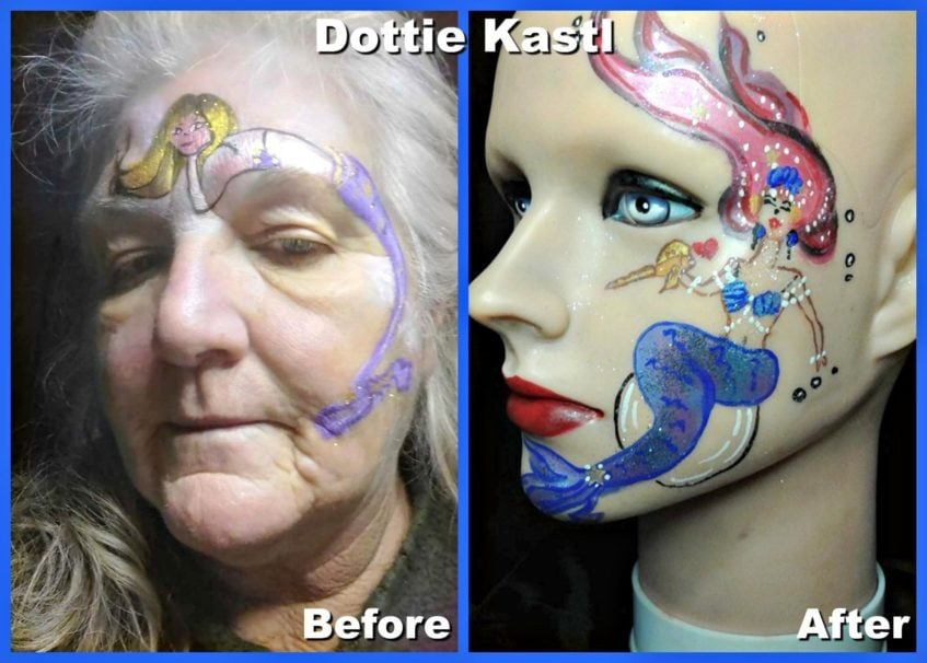 Dottie Kastl face painting