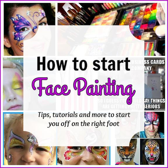 How To Start Face Painting — Beginners Guide