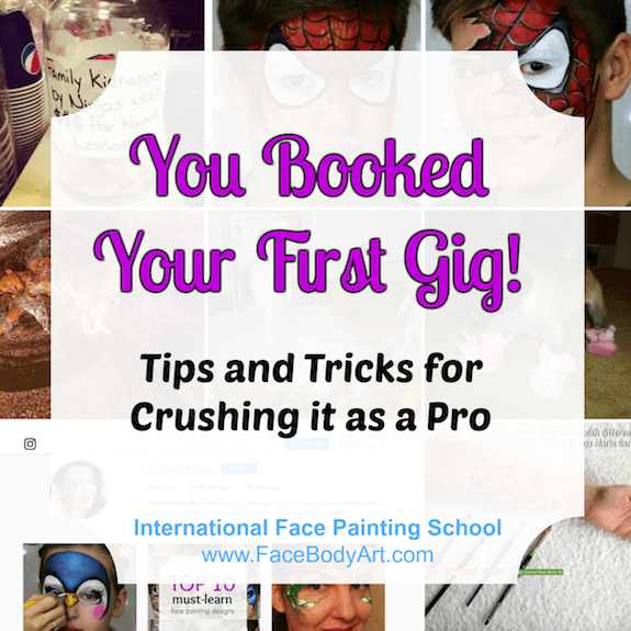 You Booked Your First Gig! Tips & Tricks for Crushing it as a Pro.