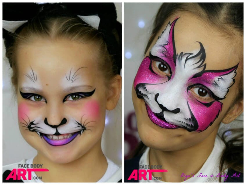 Kitty cat - face painting design