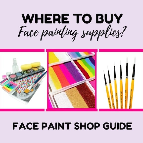 The Great Face Paint Shop Guide