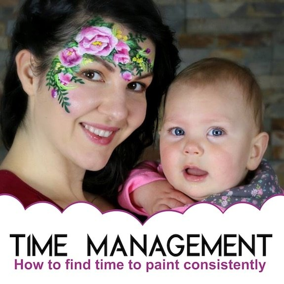 Time Management: How to find time to paint consistently
