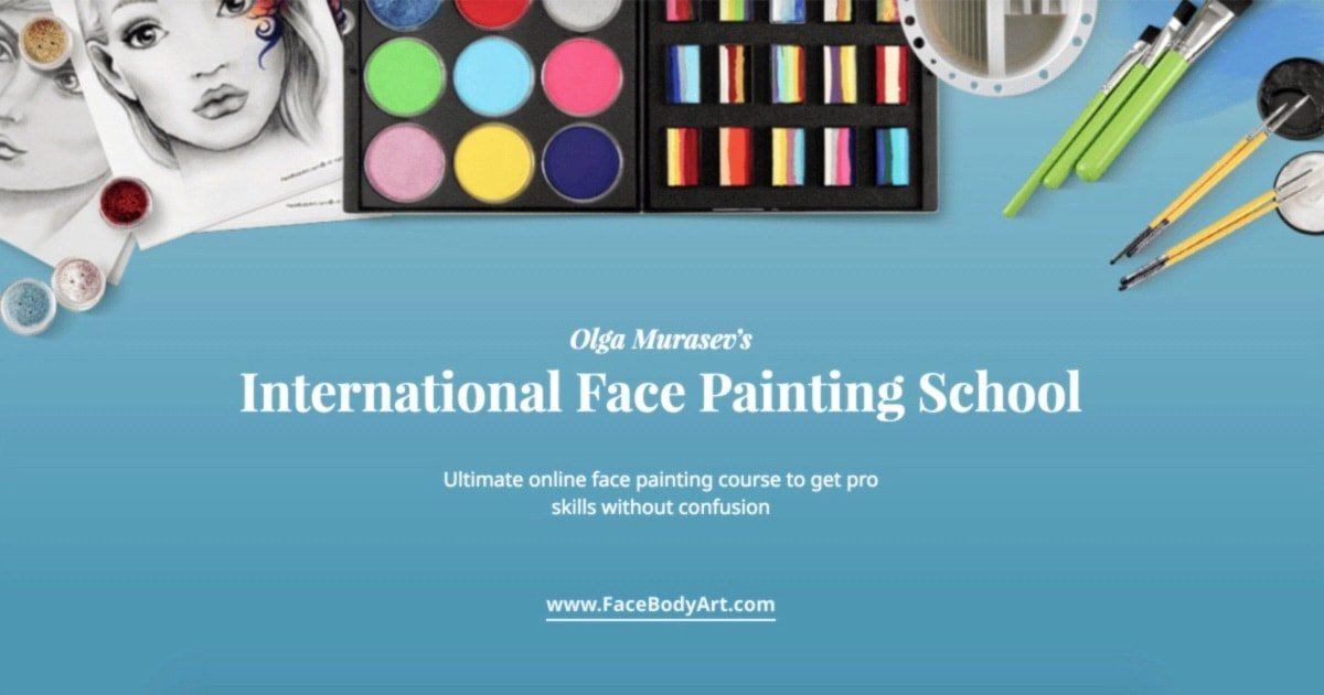 Online Face Painting Course   Int'l Face Painting School