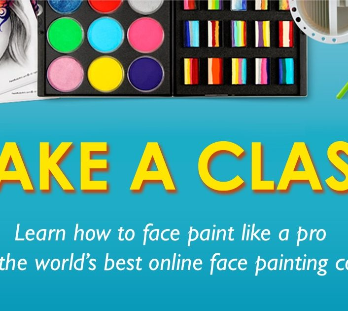 World&#8217;s Best Online Face Painting Class:<br> Get the Training You Need to Face Paint Like a Pro